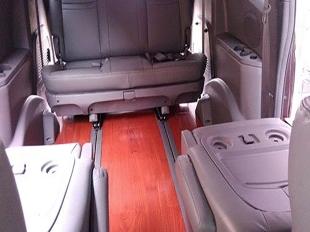 商务车木地板改装
